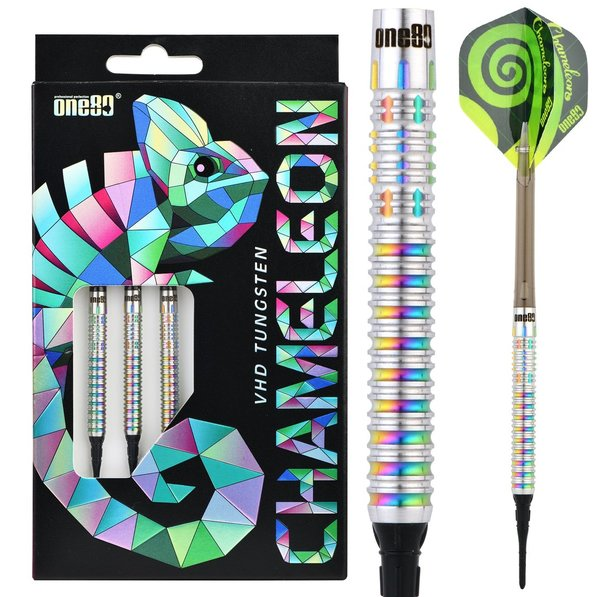 One80 Chameleon Allira Soft Darts 90%