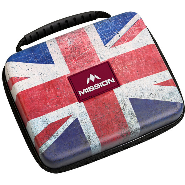 Mission Freedom Luxor Darts Case XL Union Jack Design